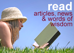 Read articles, news and words of wisdom